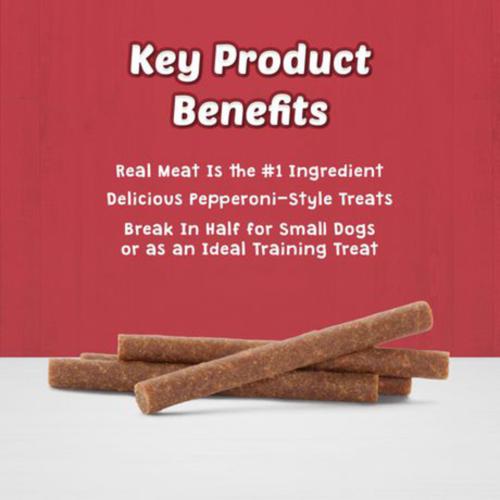 Blue Buffalo Stix Natural Soft-Moist Bacon Recipe Dog Treats 170 g
