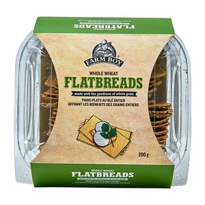 Farm Boy Flatbreads Whole Wheat 200 g