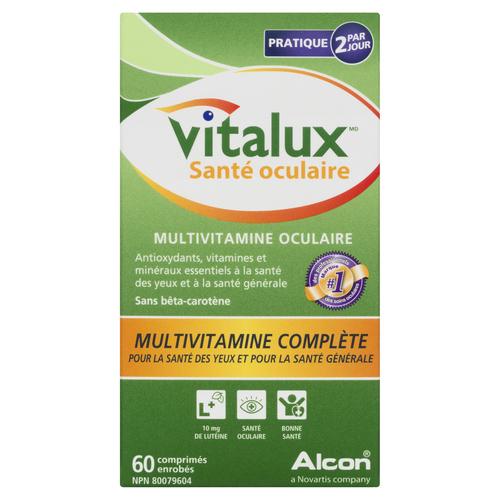 Vitalux Healthy Eyes Multi Vitamins 60 EA