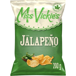 Miss Vickie's Kettle Cooked Potato Chips Jalapeno 200 g