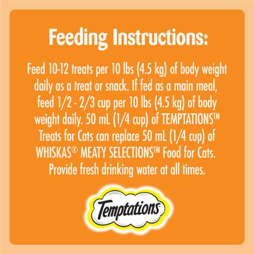 Temptations Adult Tantalizing Turkey Flavour Cat Treats 180 g