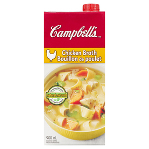 Campbell's Chicken Broth Ready To Serve 900 ml