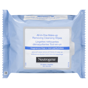 Neutrogena All In One Wipes Fragrance-Free 25 Sheets