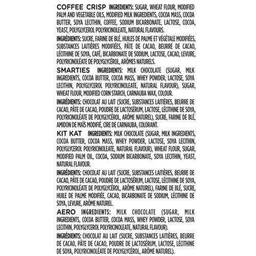 Nestlé Assorted Mini Bars 50 Pack 505 g