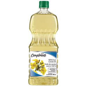 Compliments Canola Oil 100% Pure 946 ml