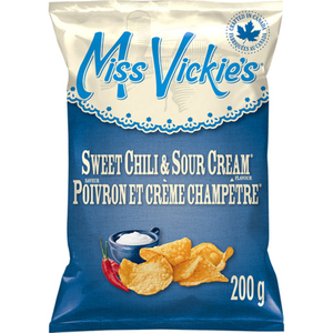 Miss Vickie's Kettle Cooked Potato Chips Sweet Chili & Sour Cream 200g