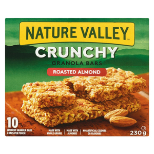 Nature Valley Crunchy Roasted Almond Granola Bars 10 x 23 g