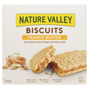 Nature Valley Biscuits Peanut Butter 190 g