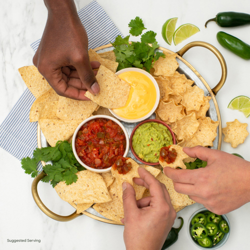 Tostitos Tortilla Chips Hint of Spicy Queso 275 g