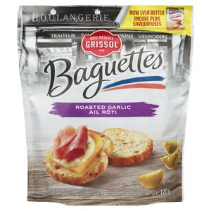 Grissol Roasted Garlic Baguettes 120 g