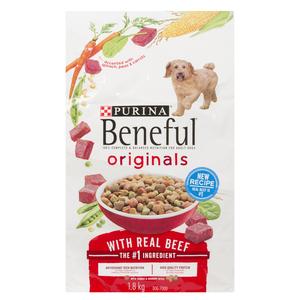 Beneful Originals Dry Dog Food, Beef 1.8 kg