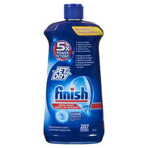 Finish Jet-Dry Rinse Agent 207 Washes 621 ml
