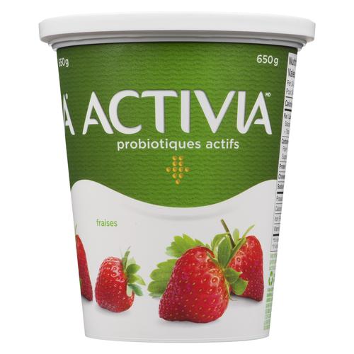 Activia Stirred Strawberry Yogurt 650 g