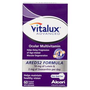 Vitalux Advance Vitamins 60 Capsules