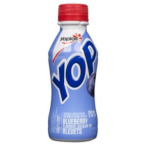 Yoplait Yop Drinkable Yogurt Blueberry 200 ml