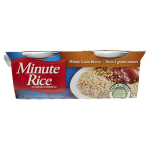 Minute Rice Wholegrain Rice Ready To Serve 2 x 125 g