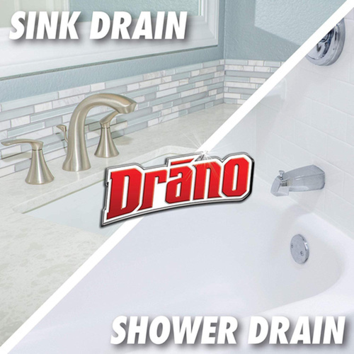 Drano Max Gel Drain Clog Remover and Cleaner 900 mL
