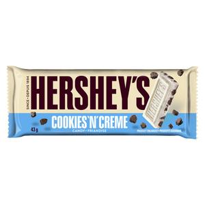 Hershey's Cookies N Cream Chocolate Bar 43 g