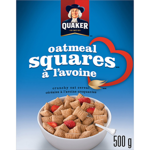 Quaker Oatmeal Squares Cereal 500 g