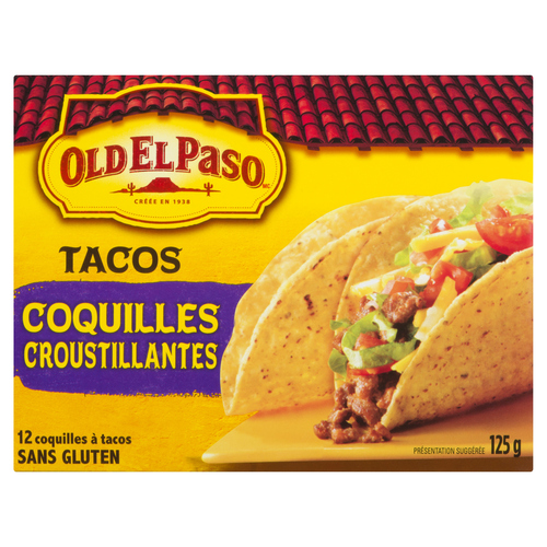 Old El Paso Taco Shells 12 Pack 125 g