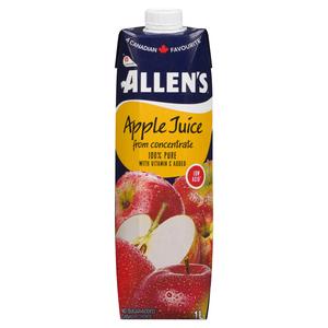 Allen's Pure Apple Juice 1 L