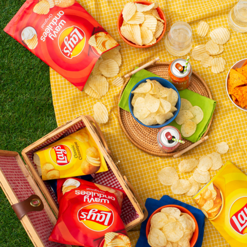 Lay's Potato Chips Dill Pickle 165 g
