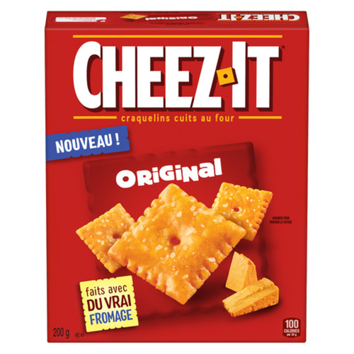 Kellogg's Cheez-it Original Crackers 200 g