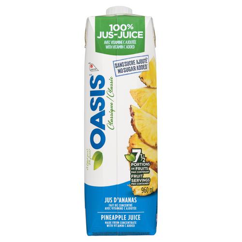 Oasis Pineapple Juice 960 ml