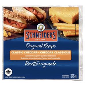 Schneider's Original Recipe Classic Cheddar Wieners 375 g