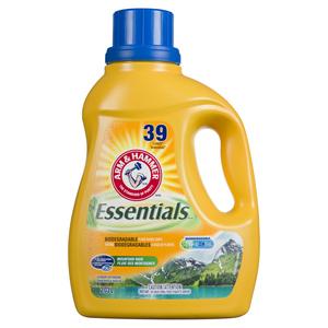 Arm & Hammer Essentials Liquid Laundry Detergent Mountain Rain 2.03 L