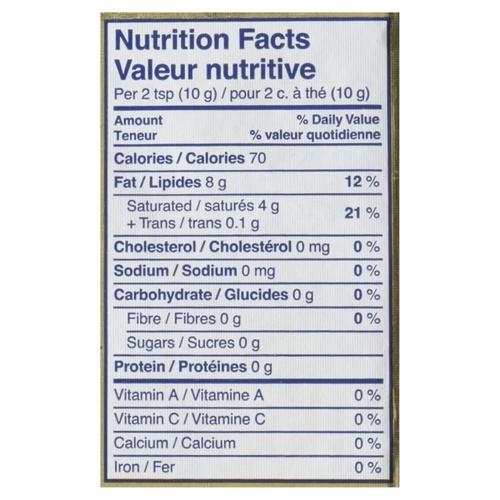 Becel Unsalted Plant-Based Margarine Bricks 454 g