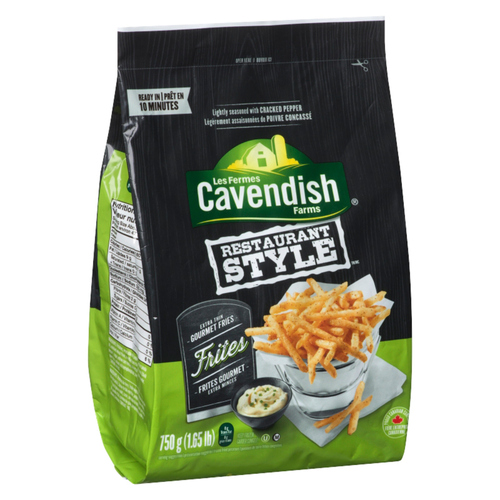Cavendish Farms Restaurant Style Extra Thin Gourmet Fries 750 g