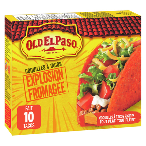 Old El Paso Taco Shells Nacho Cheese 153 g