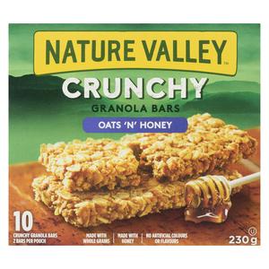 Nature Valley Crunchy Oats N Honey Granola Bars 230 g