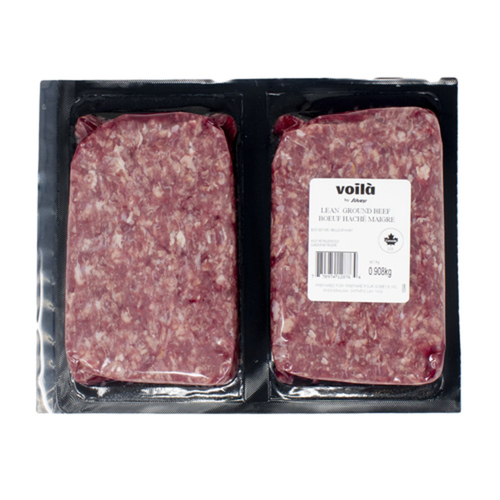 Ground Beef Lean 2 lb 908 g