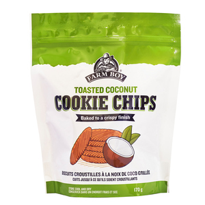 Farm Boy Cookie Chips Toasted Coconut 170 g