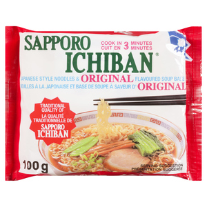 Sapporo Ichiban Original Soup With Japanese Style Noodles 100 g