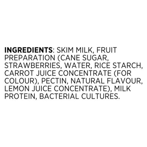 Liberté Strawberry 0% Greek Yogurt Multipack 400 g