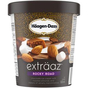 Häagen-Dazs Exträaz Ice Cream Rocky Road 500 ml