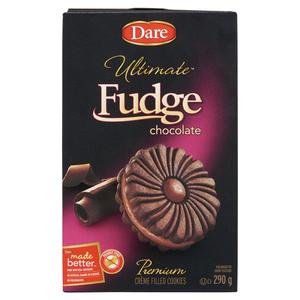 Dare Ultimate Chocolate Fudge Creme Cookies 290 g