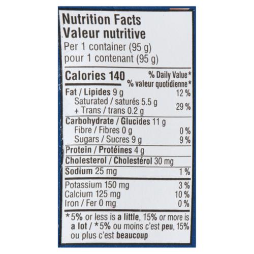 Oikos Yogurt Extra Creamy 9% Black Cherry 4 x 95 g