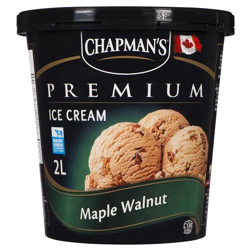 Chapman's Maple Walnut Premium Ice Cream 2 L