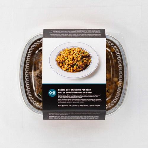 Oliver & Bonacini Babel's Beef Shawarma Pot Roast 920 g  Serves 3-4
