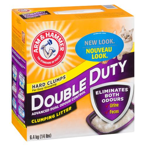Arm & Hammer Double Duty Cat Clumping Litter 6.4 kg