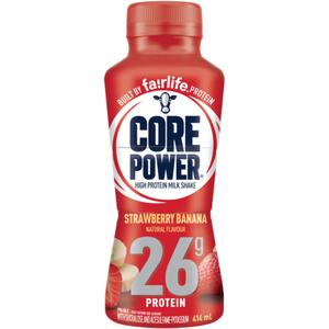 Core Power Strawberry Banana Protein Drink 414 ml