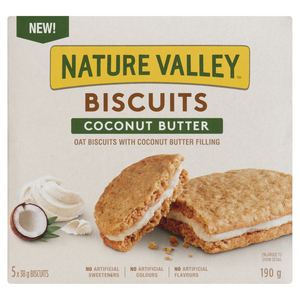 Nature Valley Biscuits Coconut Butter 190 g