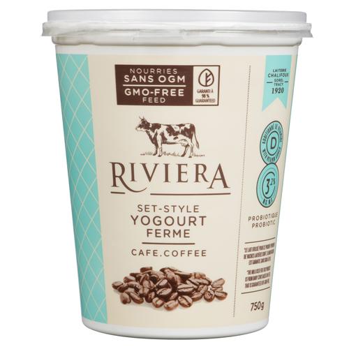 Riviera Less Sugar Yogurt Coffee Set Style 750 g