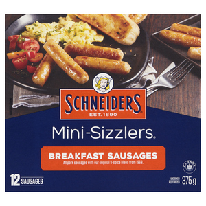 Schneiders Mini-Sizzlers Breakfast Sausages 375 g