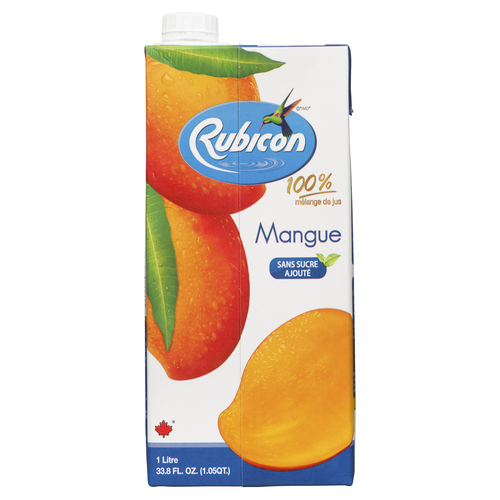 Rubicon Mango Juice Drink No Sugar Added 1 L
