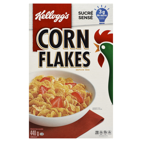 Kellogg's Corn Flakes Cereal 440 g